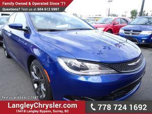 Chrysler 200 2.4L 4cyl